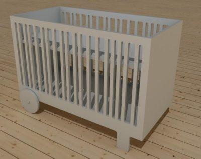 Sustainable baby bedje