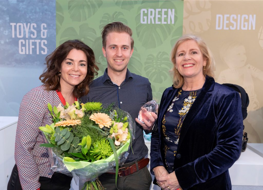baby innovation award winnaar green