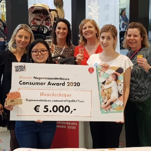 winnaar consumer award baby innovation